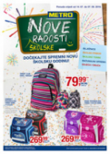 Katalog akcija Metro sve za novu školsku godinu 14.07.-07.09.2016