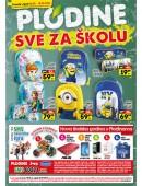 Katalog akcija Plodine sve za školu 18.08.-18.09.2016